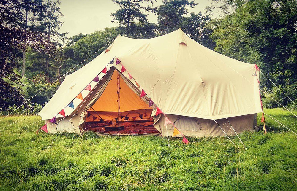 finest selection 8a3bb fd63e Emperor Tent 6m x 4m - LOVEABELL - BELL TENT HIRE