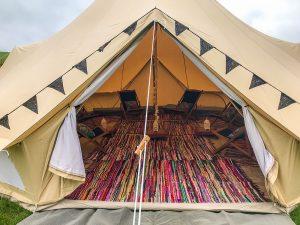 7m_ Queen Bell tent frontdoor