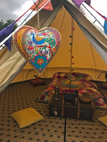 Camping Wedding Festival Honeymoon Suite