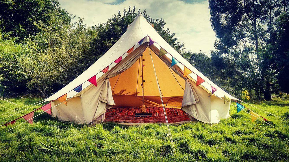 Chill out tent in Sussex