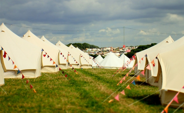 Loveabell Bell Tent Hire Glamping Camping Wedding Festival