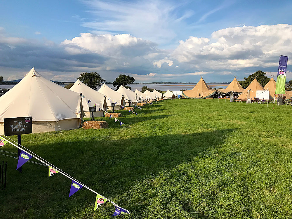Cadburys 2017 Tents