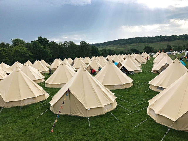 Elderflower Fields 2017 Tents