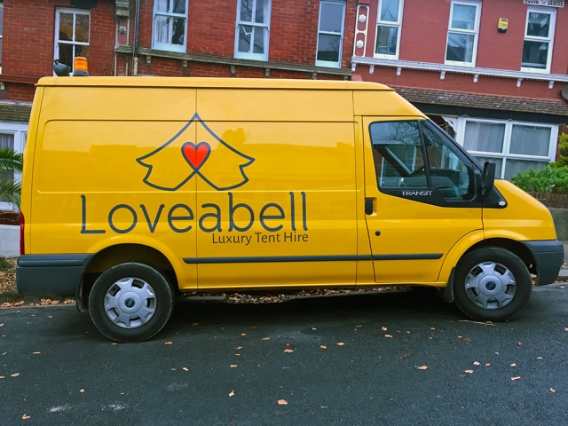 Loveabell Bell Tent Hire Glamping Camping Wedding Festival Corporate Event Van