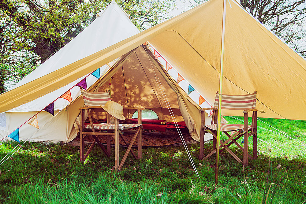 Glamping Awning Camping Wedding Festival Corporate Event