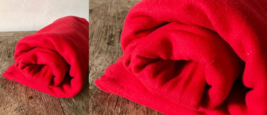 Red Fleece Throws