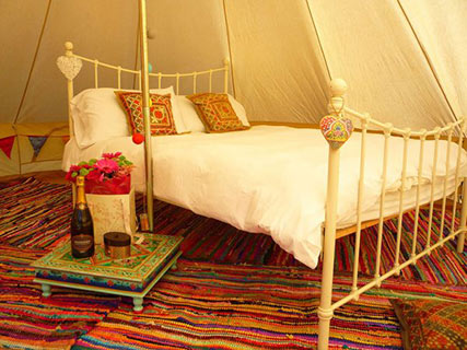 book wedding bell tents