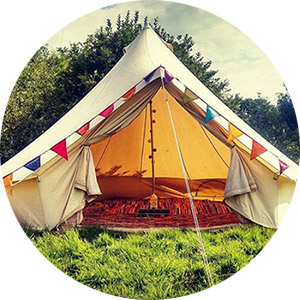 hire tents for camping event